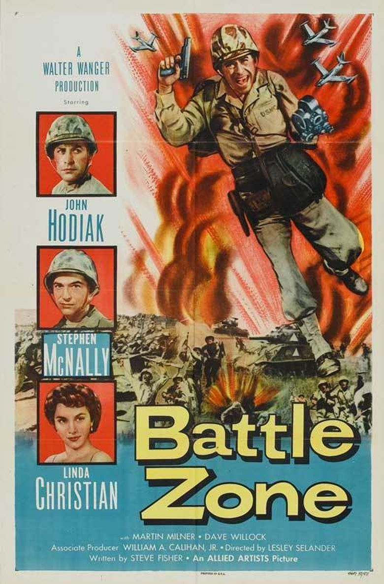 Battle Zone Poster