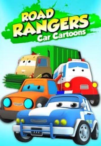 Road Rangers Car Cartoons Poster