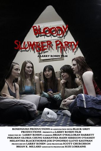 Bloody Slumber Party Poster