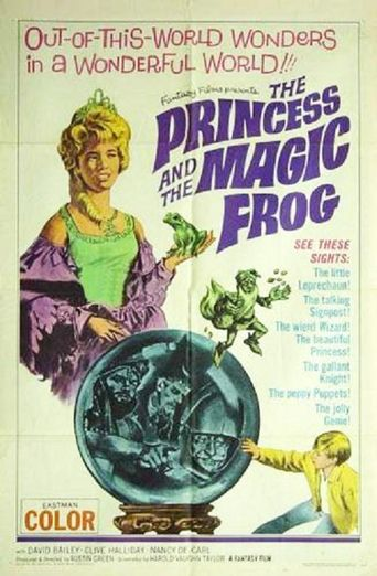 The Princess and the Magic Frog Poster
