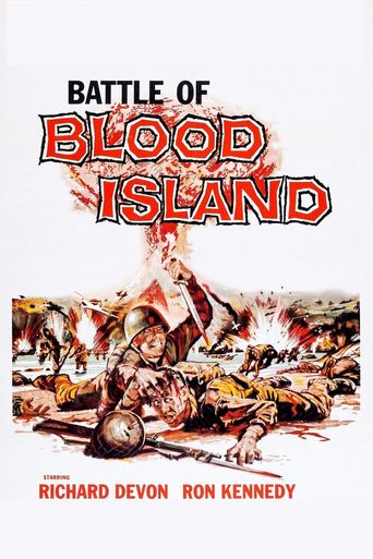 Battle of Blood Island Poster