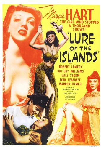 Lure of the Islands Poster