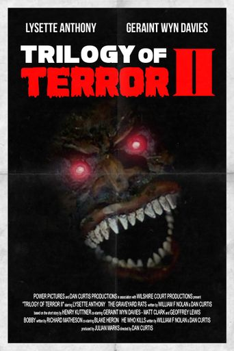 Trilogy of Terror II Poster