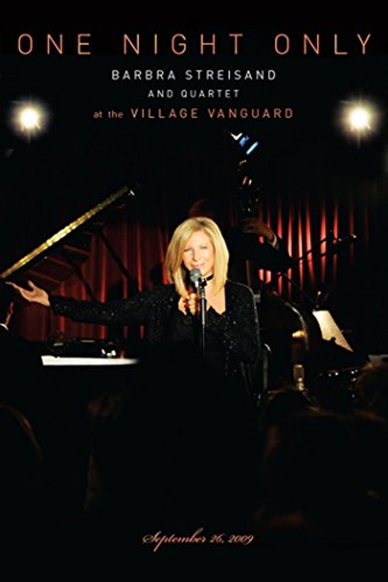 One Night Only at The Village Vanguard Poster