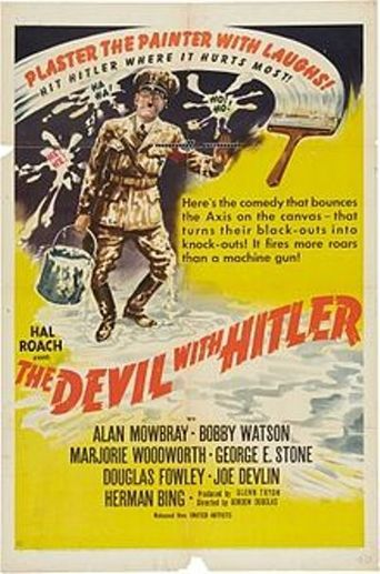 The Devil with Hitler Poster