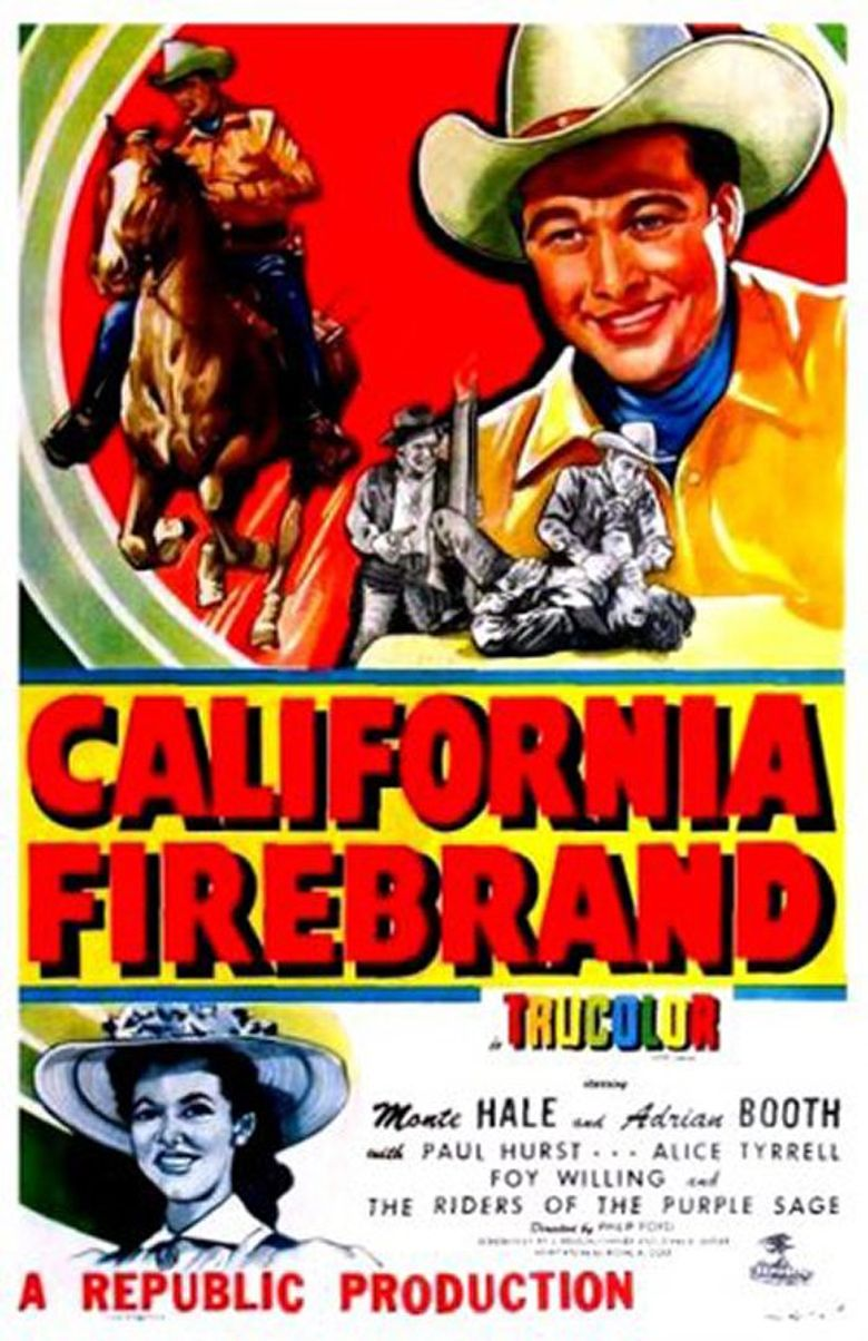 California Firebrand Poster