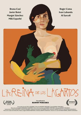 La reina de los lagartos Poster