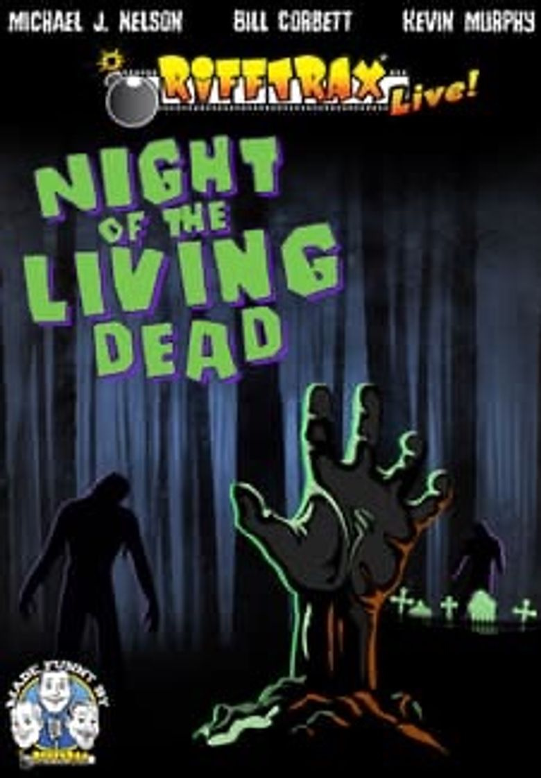 RiffTrax Live: Night of the Living Dead Poster