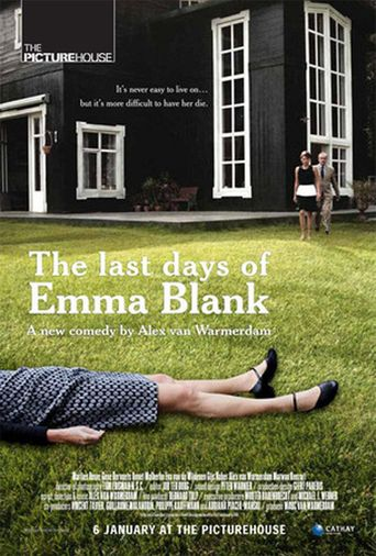 The Last Days of Emma Blank Poster