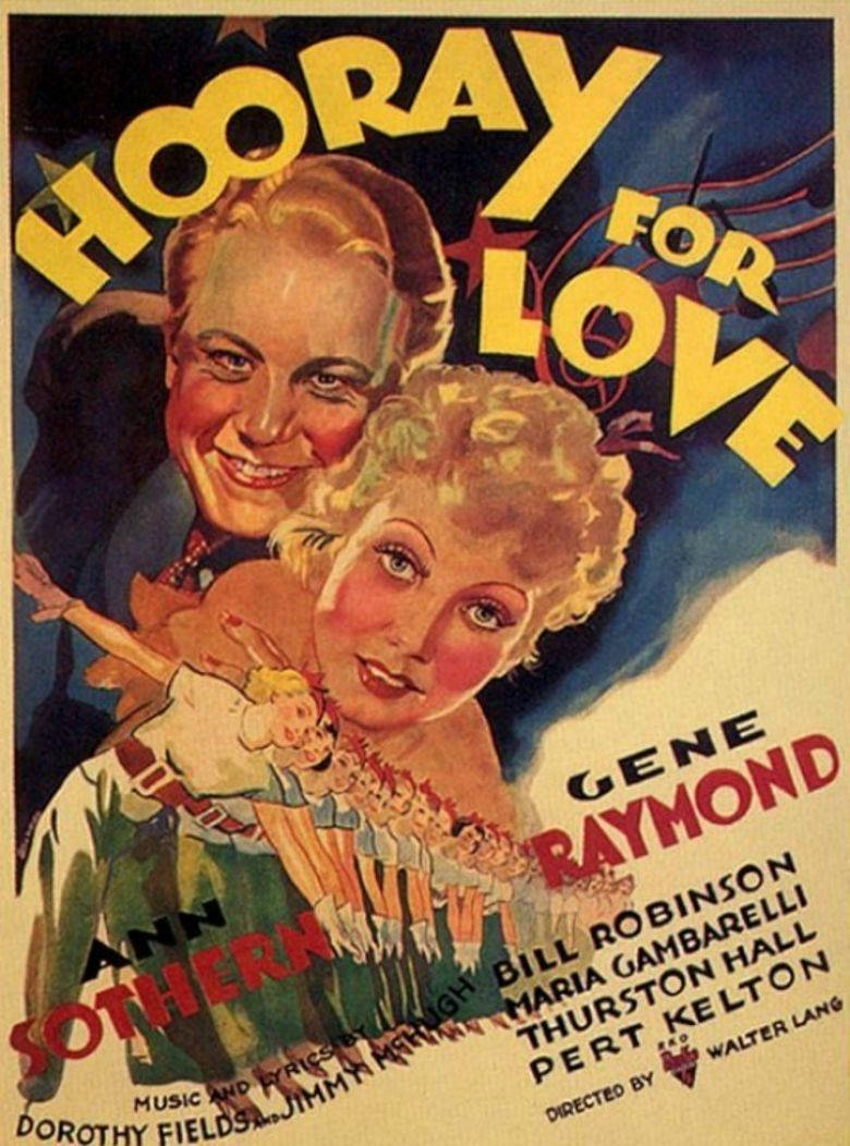 Hooray for Love Poster