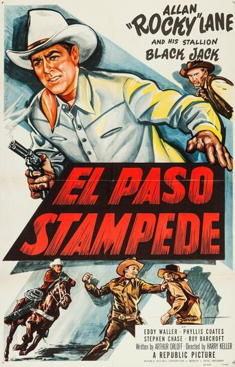 El Paso Stampede Poster