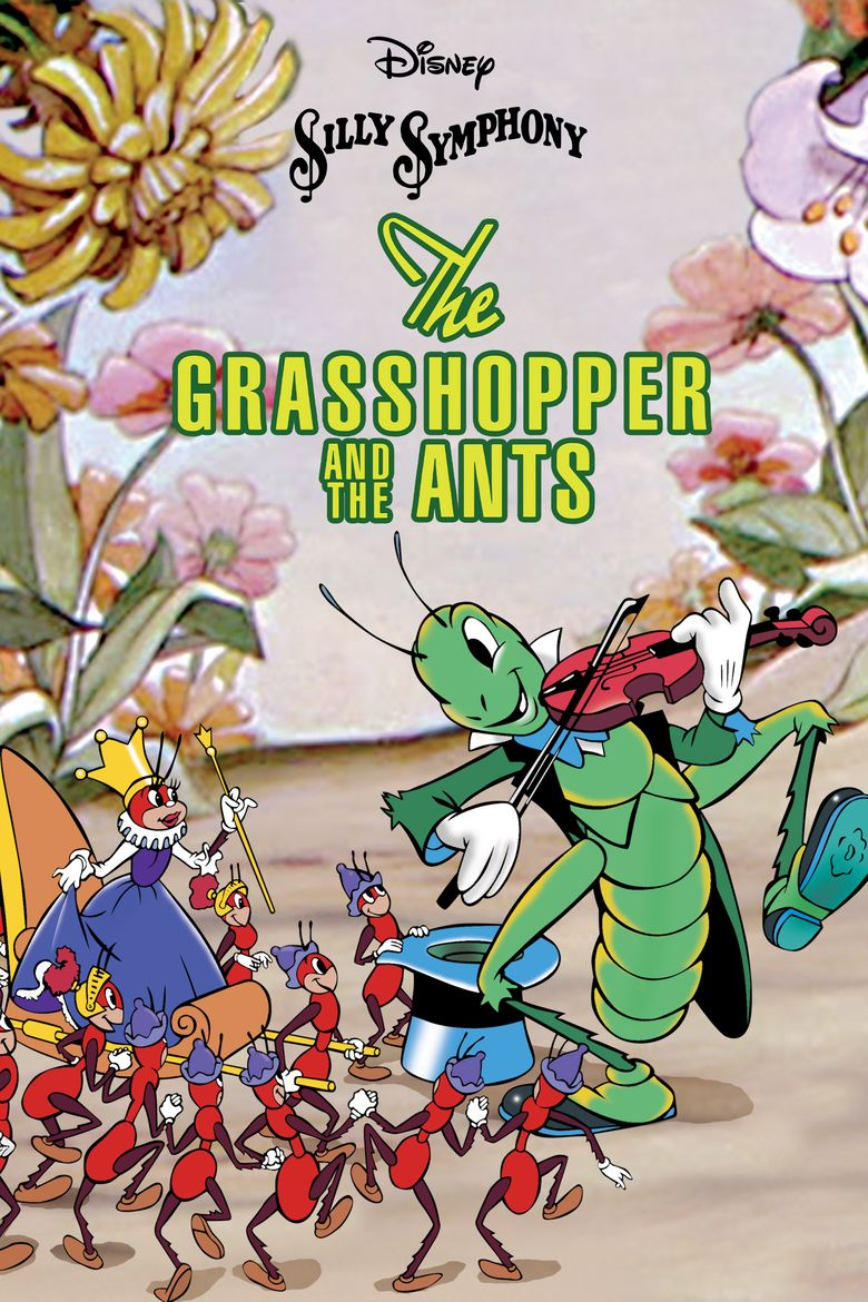 The Grasshopper and the Ants Poster