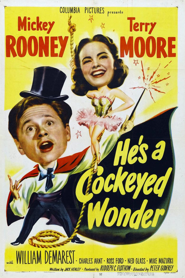 He's a Cockeyed Wonder Poster