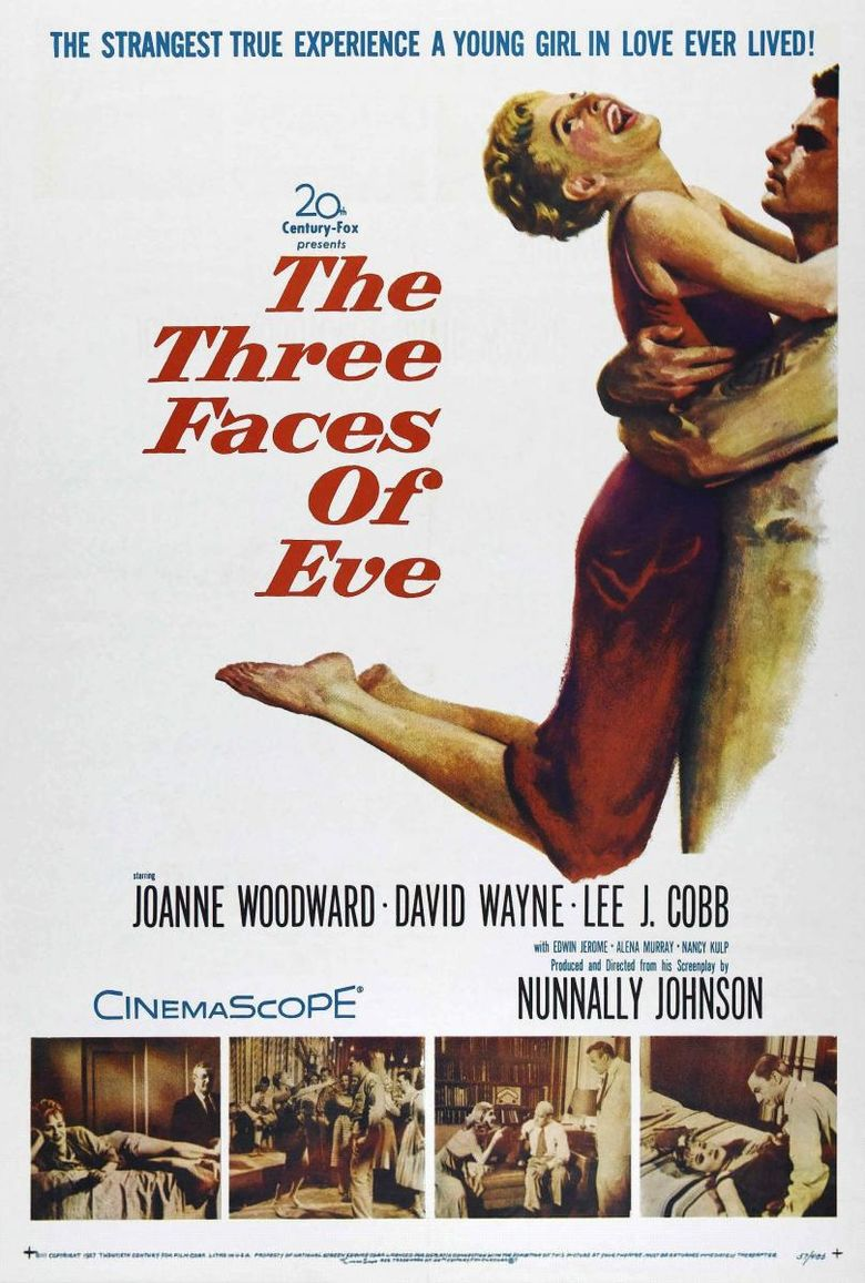The Three Faces of Eve Poster
