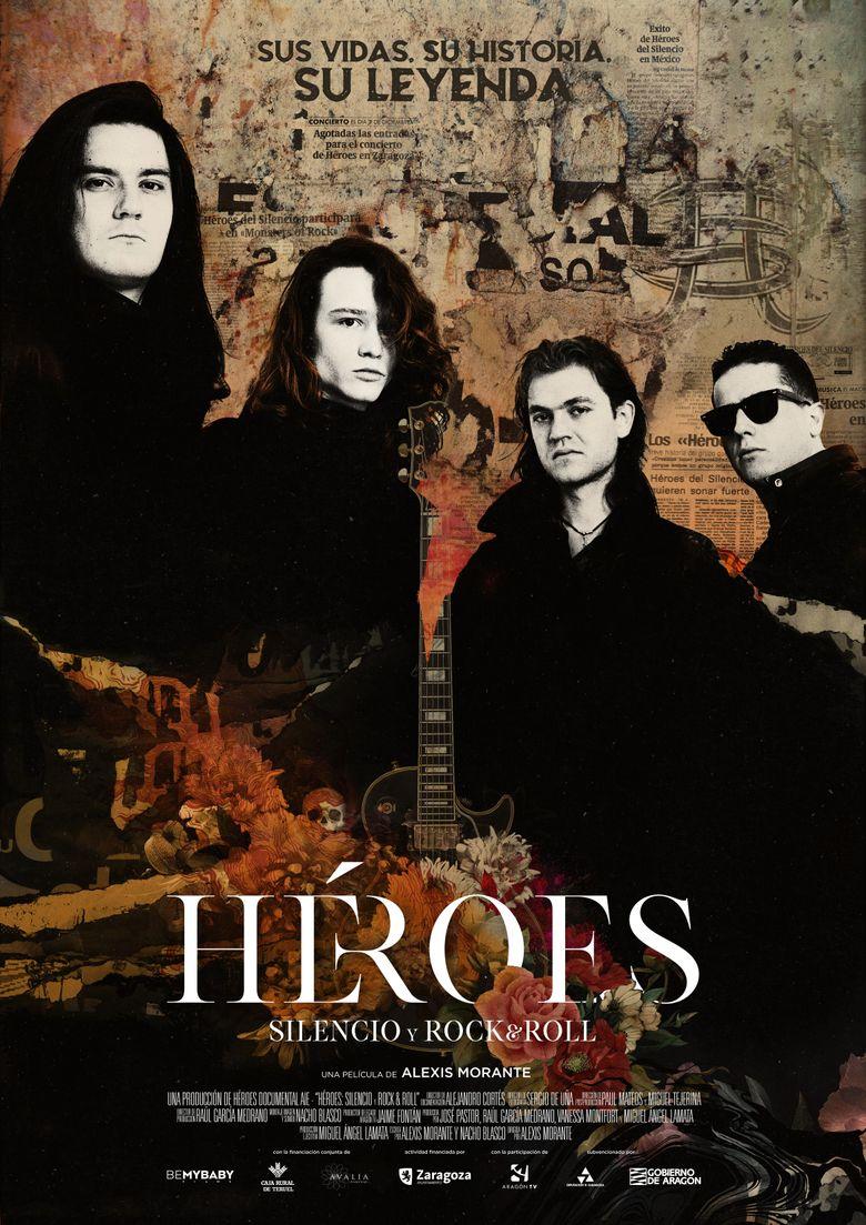 Héroes. Silencio y Rock & Roll Poster