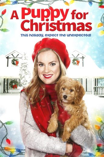 A Puppy for Christmas Poster