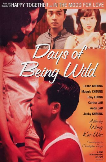 Days of Being Wild Poster