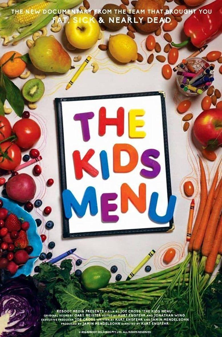 The Kids Menu Poster