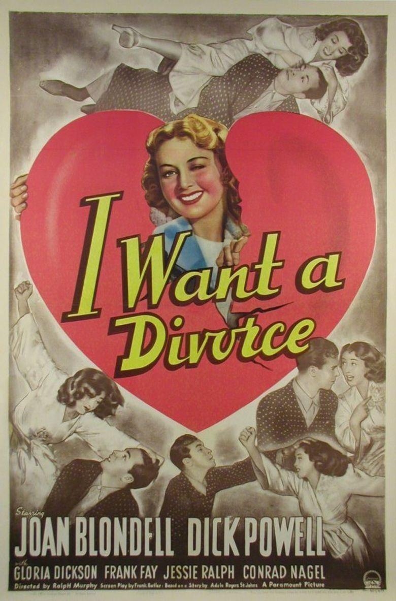 I Want a Divorce Poster