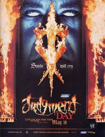 WWE Judgment Day 2004 Poster