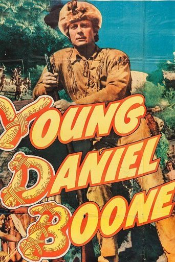 Young Daniel Boone Poster
