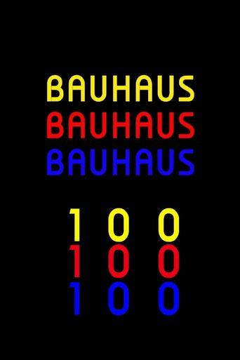 Bauhaus 100 Poster