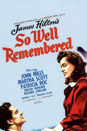 So Well Remembered Poster
