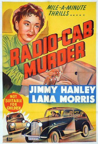 Radio Cab Murder Poster