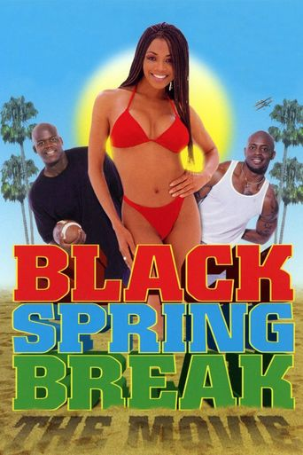 Black Spring Break Poster