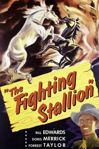 The Fighting Stallion Poster