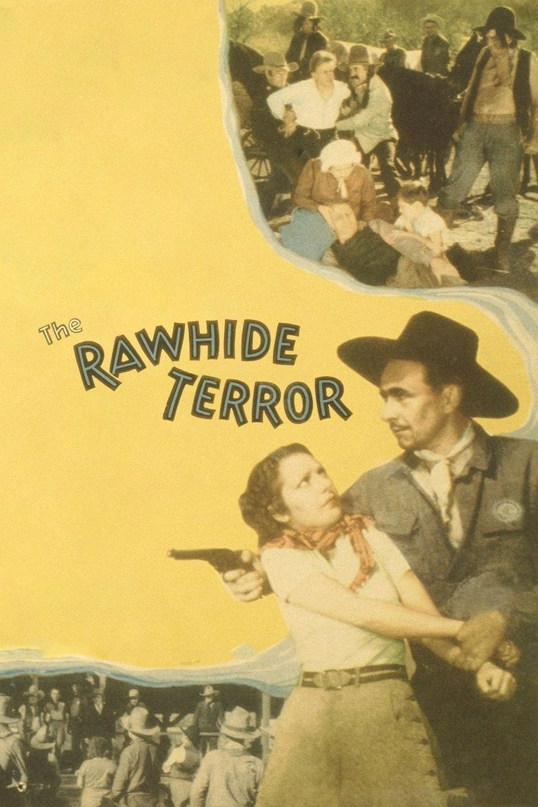 The Rawhide Terror Poster