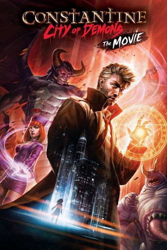 Constantine: City of Demons - The Movie Poster