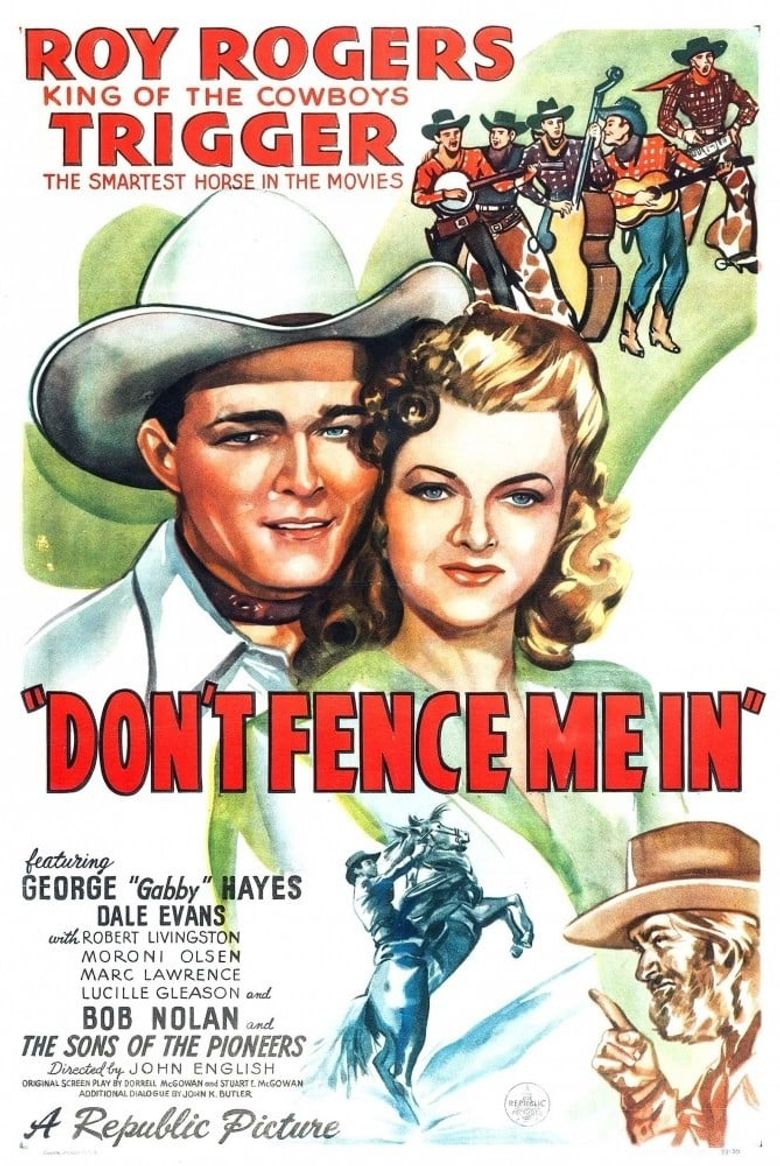 Don't Fence Me In Poster