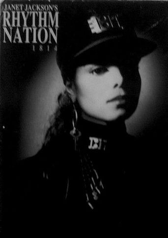 Janet Jackson's Rhythm Nation 1814 Poster