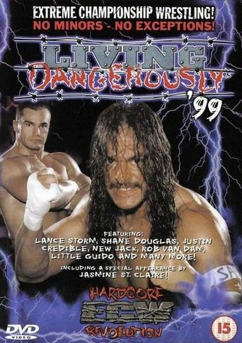 ECW: Living Dangerously '99 Poster