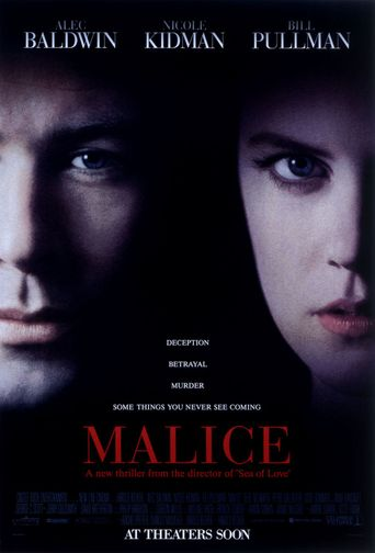 Malice Poster