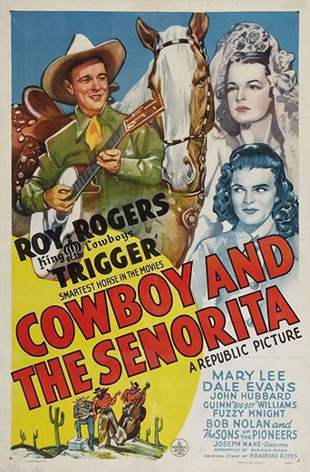 Cowboy and the Senorita Poster