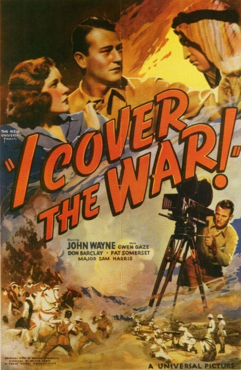 I Cover the War Poster
