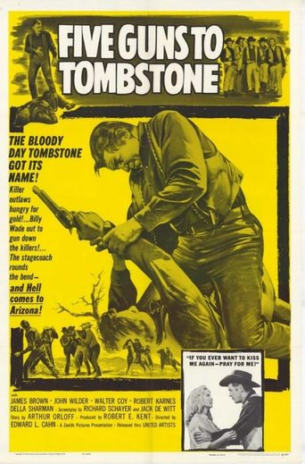 Five Guns to Tombstone Poster