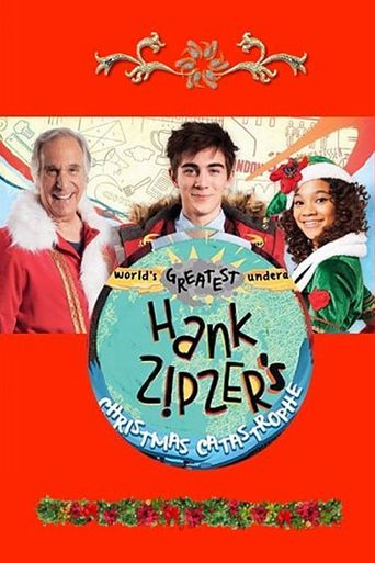 Hank Zipzer's Christmas Catastrophe Poster