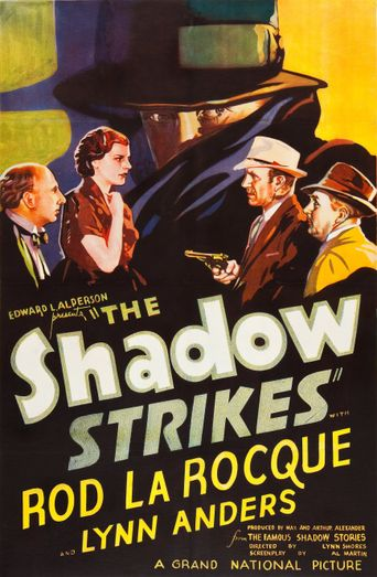 The Shadow Strikes Poster