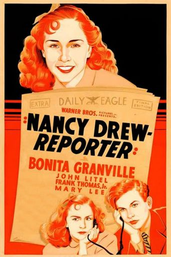 Nancy Drew... Reporter Poster
