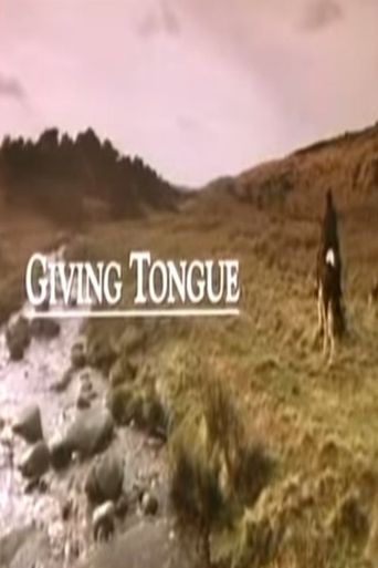 Giving Tongue Poster