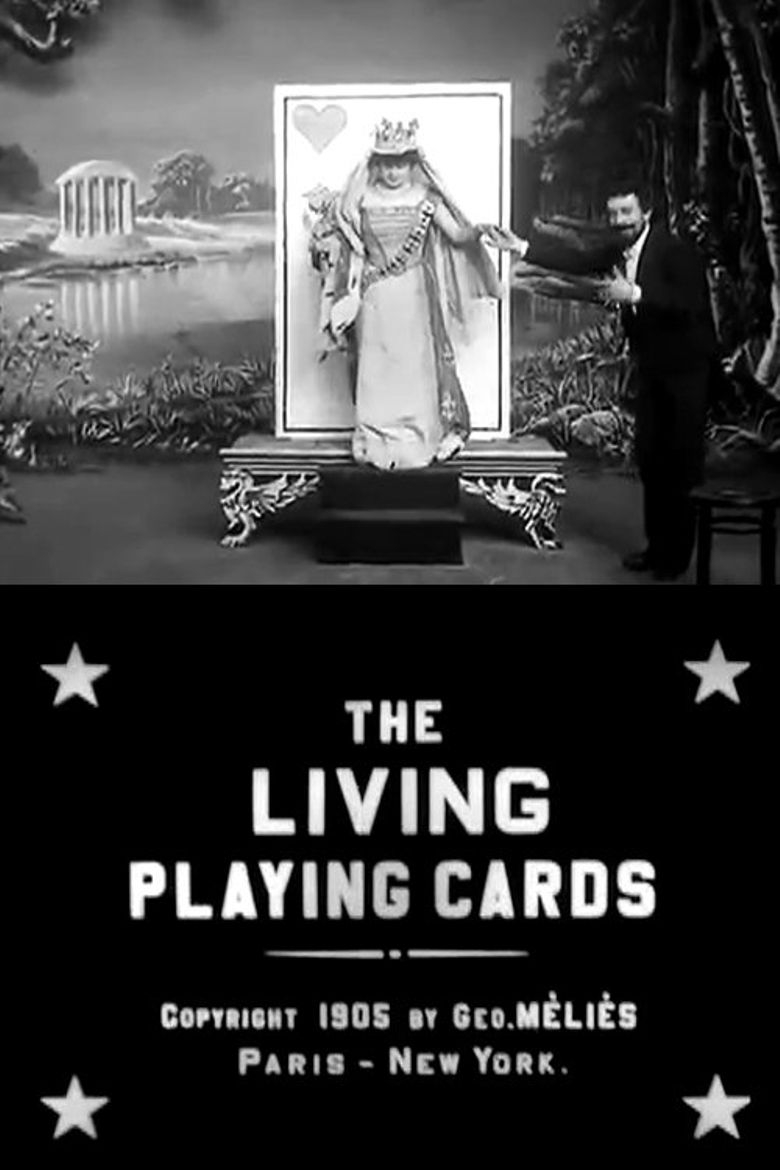 The Living Playing Cards Poster