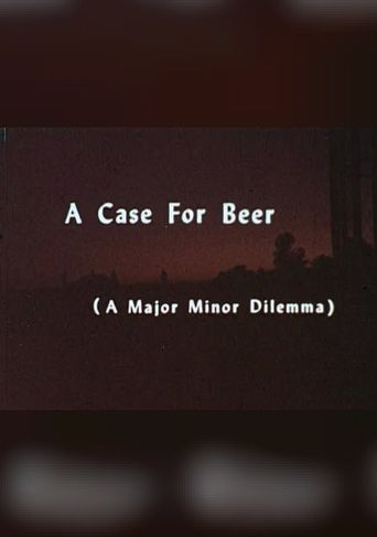 A Case of Beer Poster