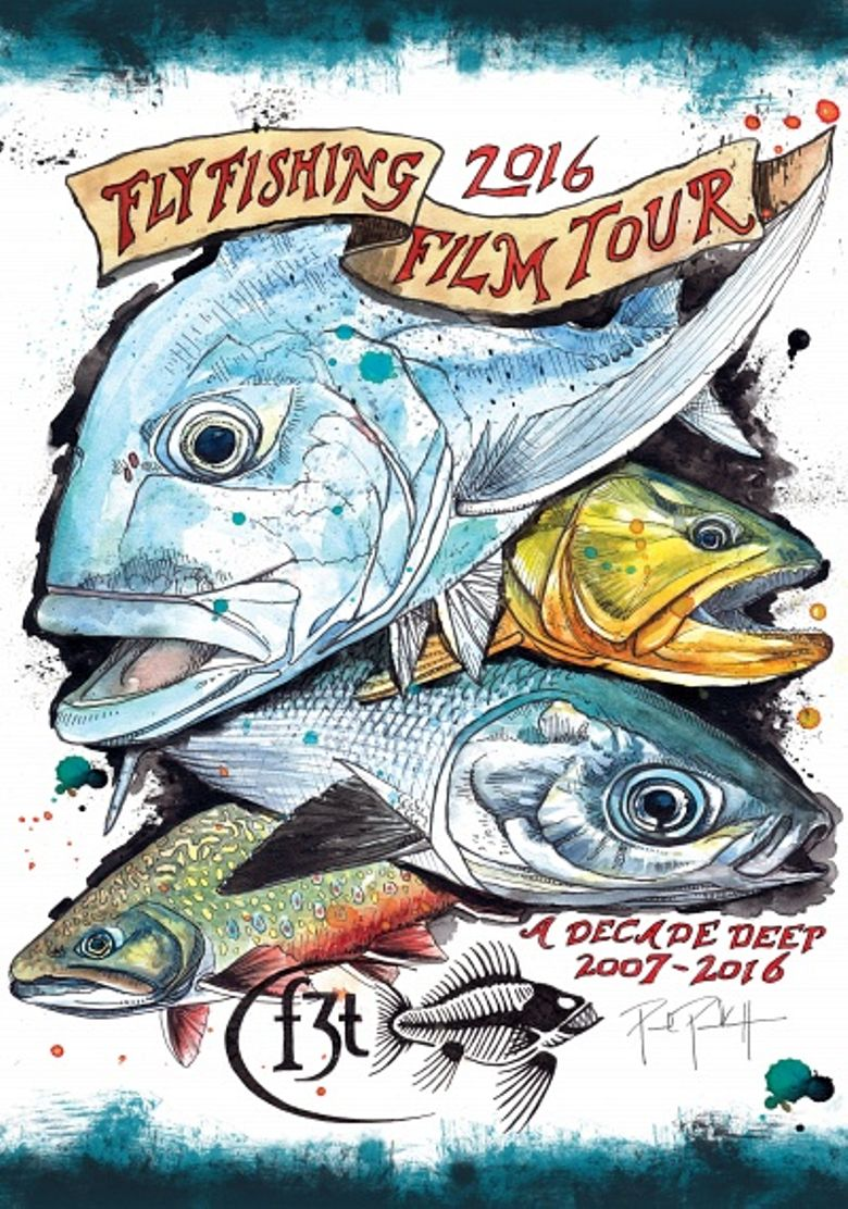2016 Fly Fishing Film Tour Poster