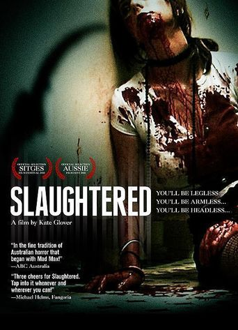 Slaughtered Poster