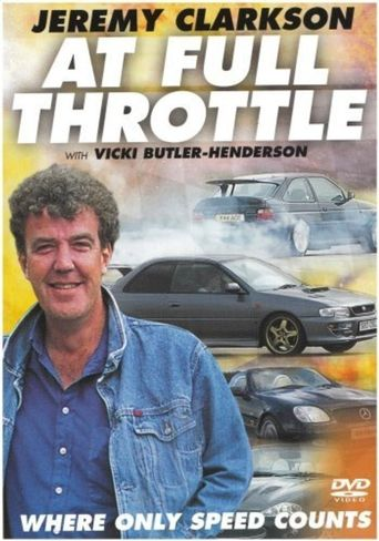 Jeremy Clarkson At Full Throttle Poster