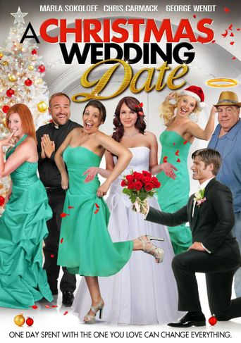 A Christmas Wedding Date Poster