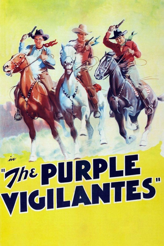 The Purple Vigilantes Poster